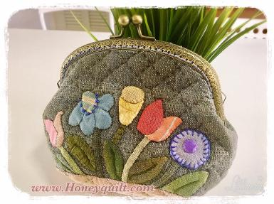 New : Forest flower frame bag