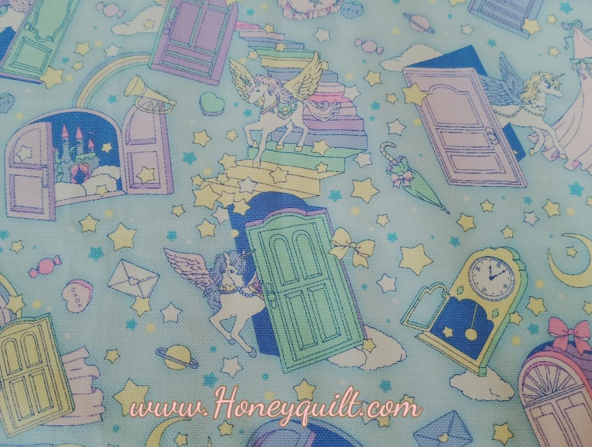 New ! Unicorn Fairy Tale Cotton